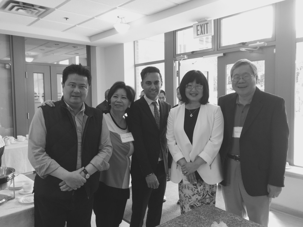 Anthony Remedios with Amy Sunberg, Senator Yonah Martin, Tony Araujo & Dodie Lucas